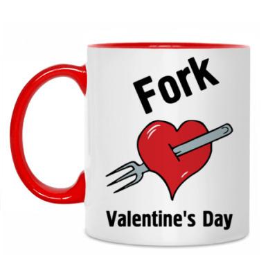 Кружка Fork V Day