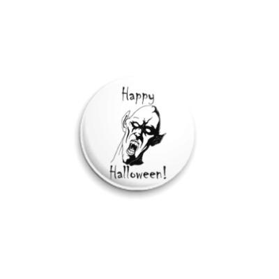 Значок 25мм Happy Halloween!