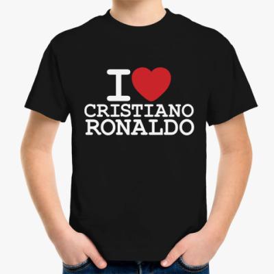 Детская футболка Cristiano Ronaldo
