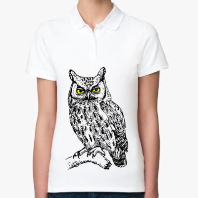 Женская рубашка поло OWL