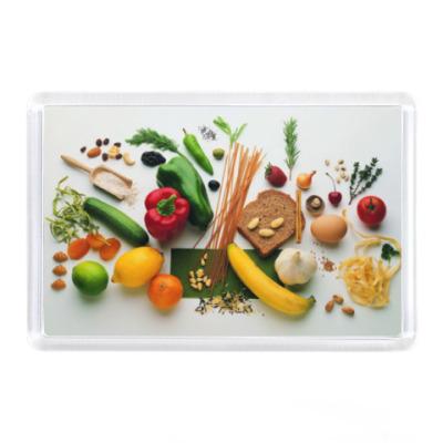 Магнит Овощи и фрукты