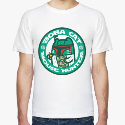 Футболка Боба Кот (Звездные Войны)