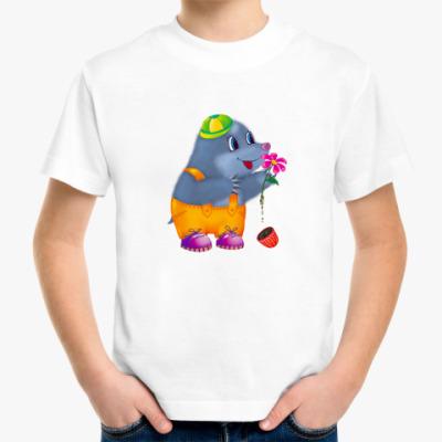 Детская футболка Кротик