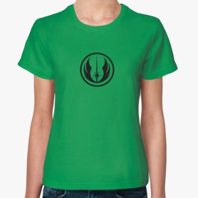 Женская футболка Jedi order