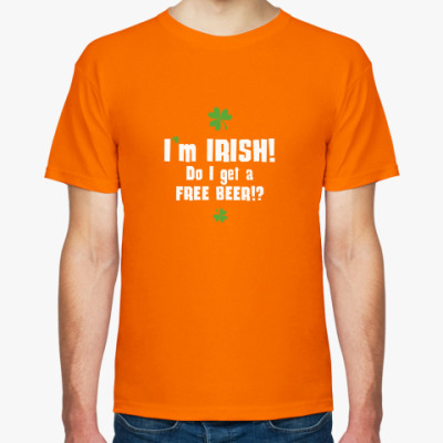 Футболка I'm Irish
