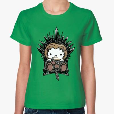 Женская футболка Китти Старк