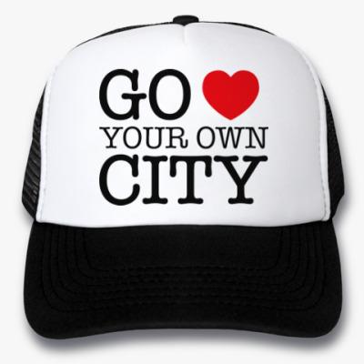 Кепка-тракер Love your own city