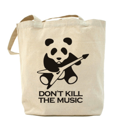 Сумка Don't Kill The Music