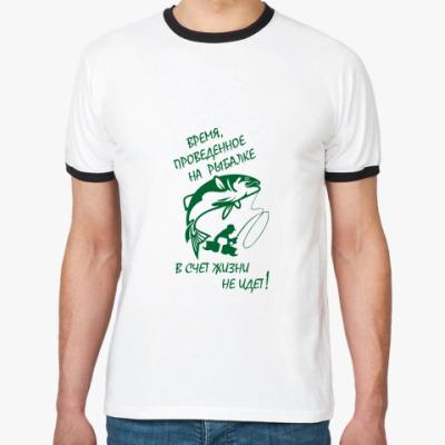 Футболка Ringer-T Рыбалка