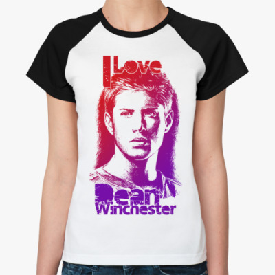 Женская футболка реглан Dean Winchester Ж()