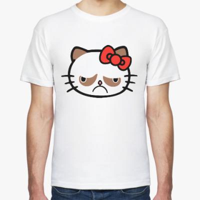 Футболка Hello Grumpy Cat