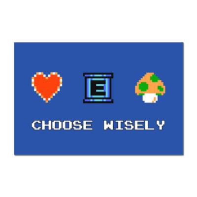 Наклейка (стикер) 8-bit