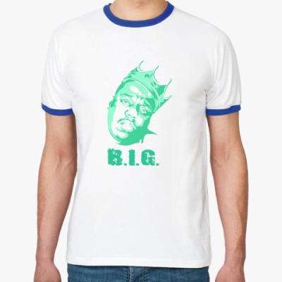 Футболка Ringer-T Notorious BIG