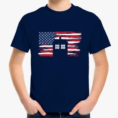 Детская футболка Tardis USA