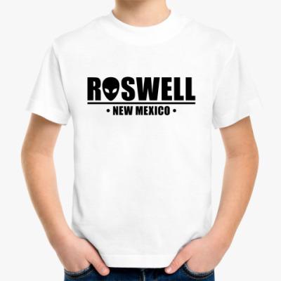 Детская футболка Roswell