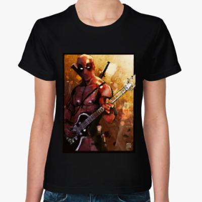 Женская футболка Hell,yeah! Deadpool