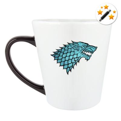 Кружка-хамелеон Stark Wolf