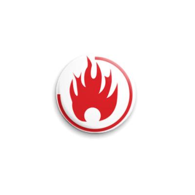 Значок 25мм Flame