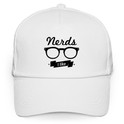 "Кепка бейсболка ""Nerds I like"""