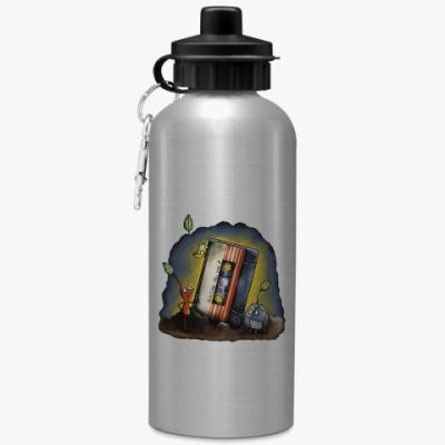 Спортивная бутылка/фляжка Кассета - стражи галактики