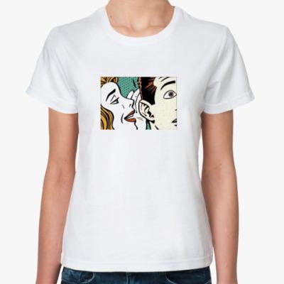 Классическая футболка ПОП-АРТ
