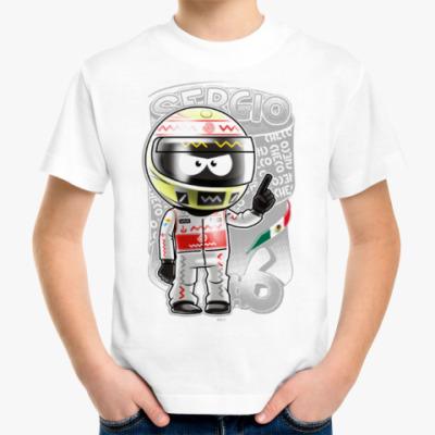 Детская футболка Sergio № 6