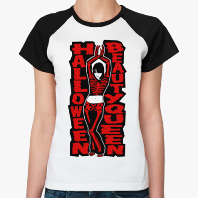 Женская футболка реглан H Queen  Ж()