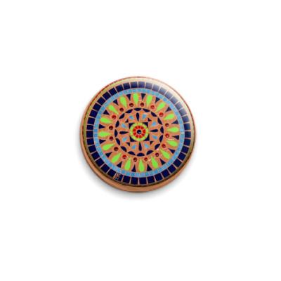Значок 25мм Калейдоскоп