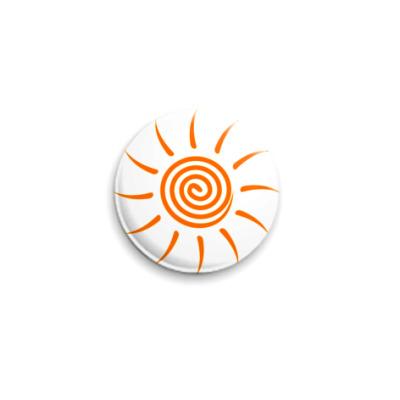 Значок 25мм Солнышко