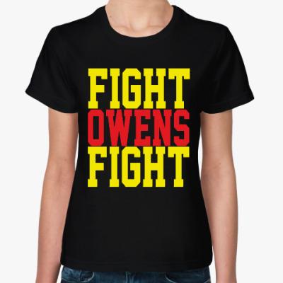 Женская футболка Fight Owens Fight (WWE)