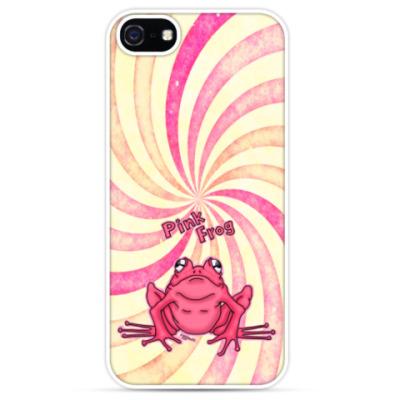 Чехол для iPhone Pink Frog