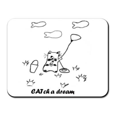 Коврик для мыши CATch a dream