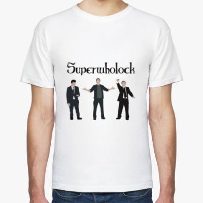 Футболка Шерлок(Sherlock),Superwholock