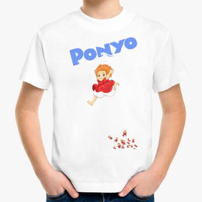 Детская футболка Ponyo #3 Детская футболка