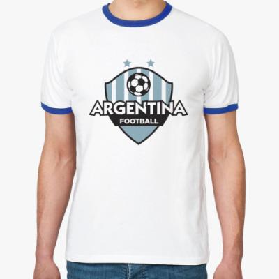 Футболка Ringer-T Футбол Аргентины