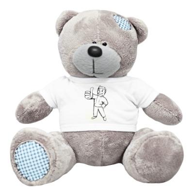 Плюшевый мишка Тедди для жителя убежища
