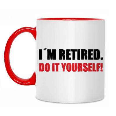 Кружка I'm retired