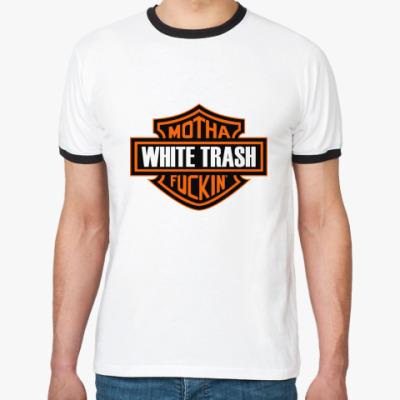 Футболка Ringer-T   HD WHITETR