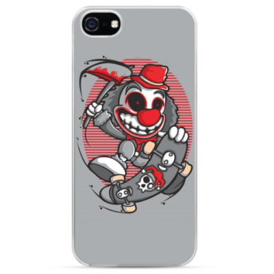 Чехол для iPhone evil clown