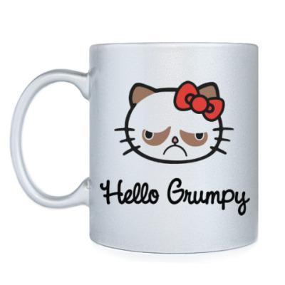 Кружка Hello Grumpy Cat