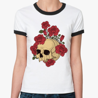 Женская футболка Ringer-T The Dead Garden