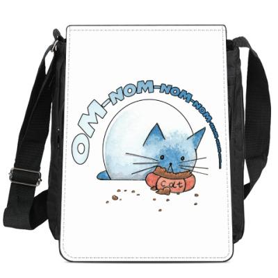Сумка-планшет Ом-ном-ном-ном кот