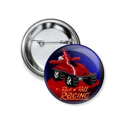 Значок 37мм Rock n' Roll Racing - Blade