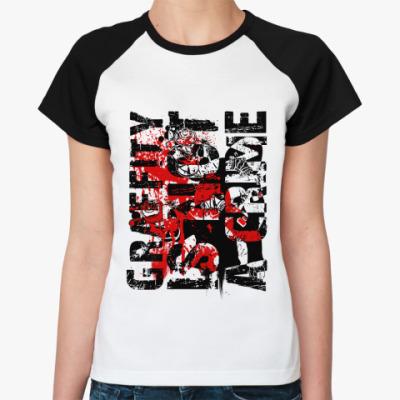 Женская футболка реглан Graffity   Ж()