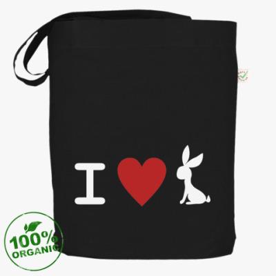 Сумка Я люблю кроликов