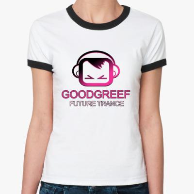 Женская футболка Ringer-T GoodGreef