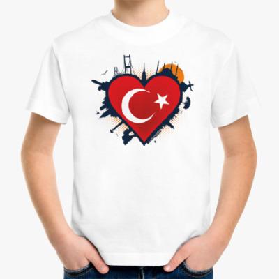 Детская футболка Сердце ислам