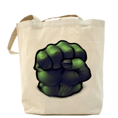 Сумка Холщовая сумка Халк (Hulk)