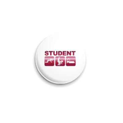 Значок 25мм for Student