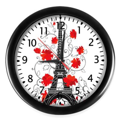 Настенные часы Я люблю тебя, Париж!